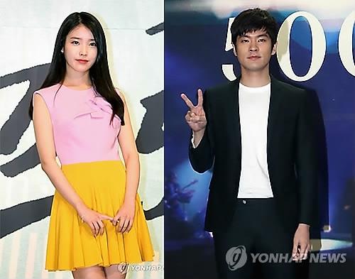 韩歌星IU和张基河3年恋情告吹