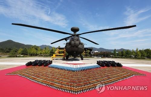 韩军部署36架阿帕奇直升机