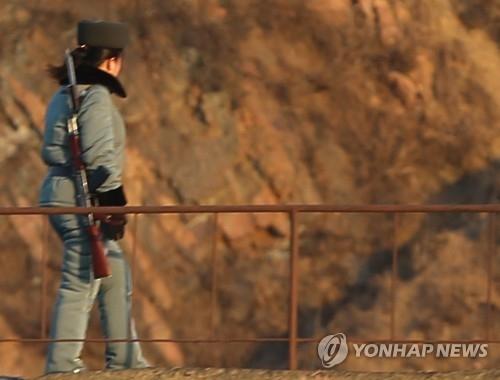 消息:朝鲜在朝中边境设传感器严防居民外逃
