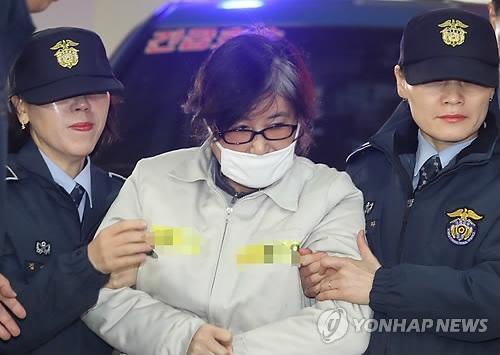 韩亲信门主角崔顺实不满独检组强行审讯再拒传唤