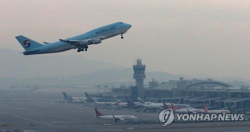2016年韩国航班量破70万班次创历史新高