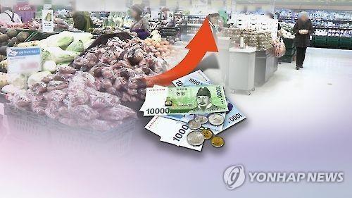 详讯:韩1月CPI同比上涨2% 创4月3个月以来最高