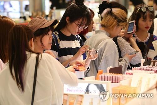 中国2016年韩妆进口价格同比大降四成