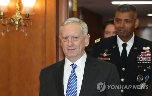 韩国家安保室长会晤美防长 商定继续加强韩美同盟