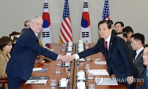 美防长重申部署萨德旨在保护韩美军民