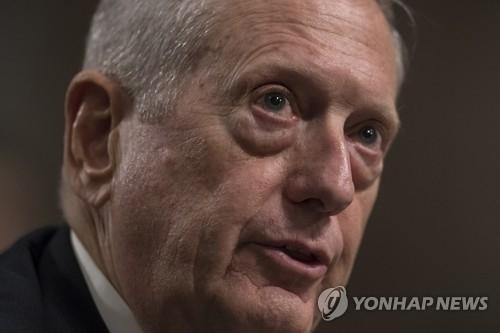 美防长称凭压倒性态势反击朝鲜核武