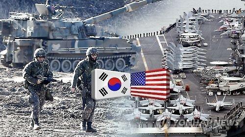 韩美防长商定为今年联合军演加码