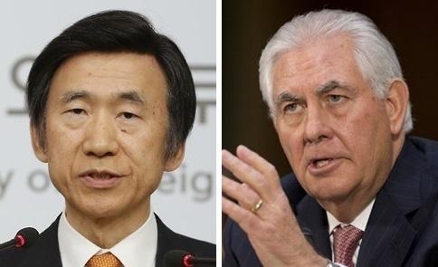 详讯:韩美外长通电话商讨合作应对朝核方案