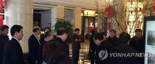 韩6·15宣言实践委不顾政府反对访华与朝开会
