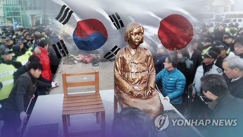 """韩外交部:将坚持使用""""慰安妇少女像""""标记名称"""