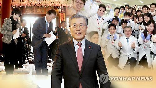 韩大选民调:文在寅连续6周居首 黄教安首次位列第二