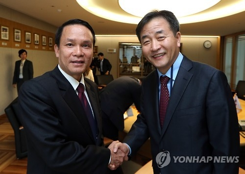 越通社加入韩联社平昌新闻服务网络