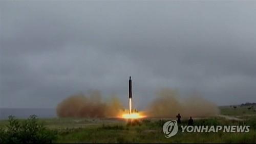 简讯:朝鲜今晨试射一枚飞行物 疑似中程导弹