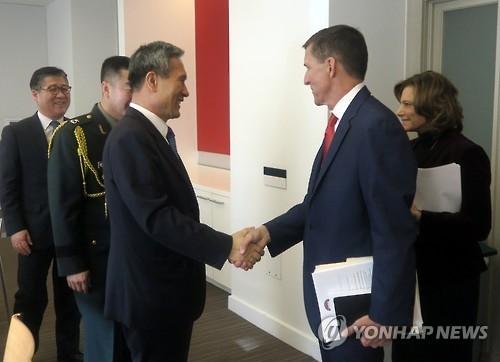韩美国安高官通电话商讨应对朝鲜挑衅