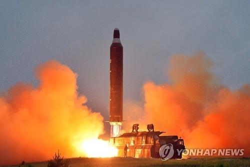 韩联参:朝鲜今晨发射的导弹为舞水端级改良型