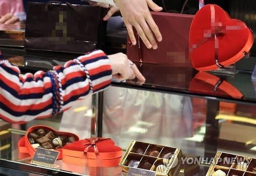 调查:韩国人在情人节最多先考虑朋友 - 2