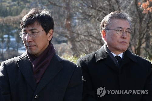 韩大选民调:文在寅稳居首位 安熙正黄教安角逐二甲