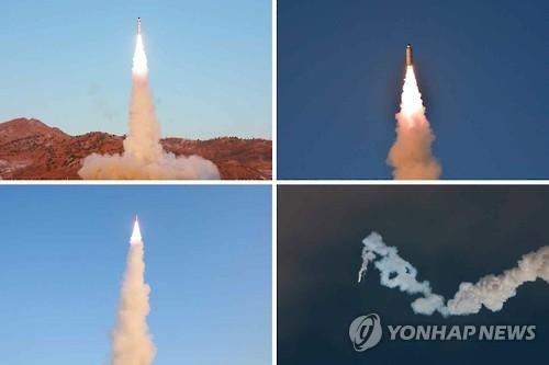 韩联参:朝鲜昨日发射的是中程固体燃料弹道导弹