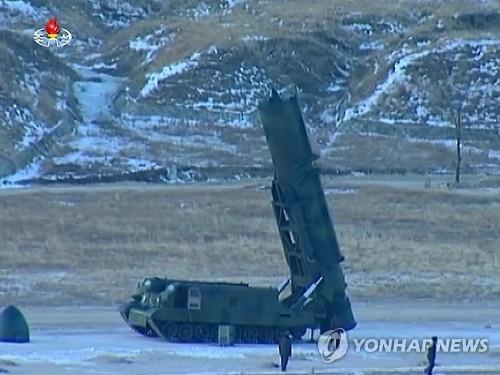 详讯:朝军北极星2型导弹发射场面全曝光