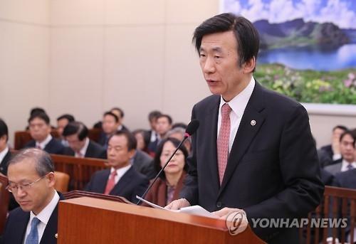 韩外长预测韩美防卫费分担谈判提前到今年末明年初