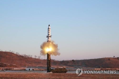 韩请求国际组织抗议朝擅自试射北极星2导弹