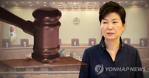 朴槿惠请求宪法法院推迟弹劾案最后一次庭审日程