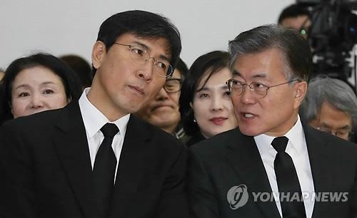 韩大选民调:文在寅领跑7周 安熙正第2追近