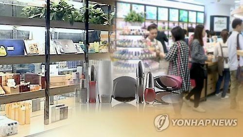 韩去年化妆品出口额近300亿 近四成销往大陆