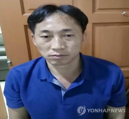 大马警方公布涉嫌刺杀金正男的李某照片。(韩联社)
