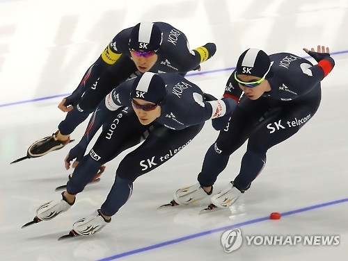 李承勋封三冠王 韩称霸亚冬会男团追逐赛