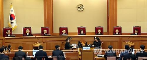韩总统弹劾案最终庭审延至27日