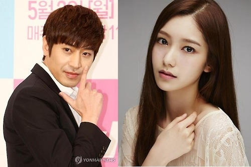 Eric和罗惠美 (韩联社/Imagine Asia提供)