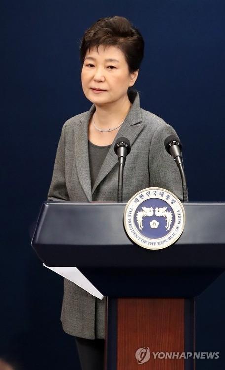 朴槿惠全盘否认亲信干政指控