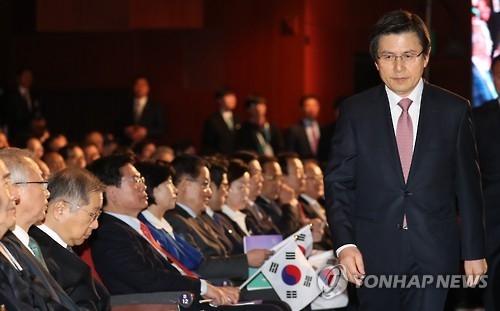 详讯:韩代总统称将让朝鲜觉悟核武毫无用处