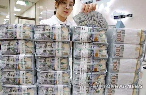 韩2月外汇储备为3739亿美元 排全球第八