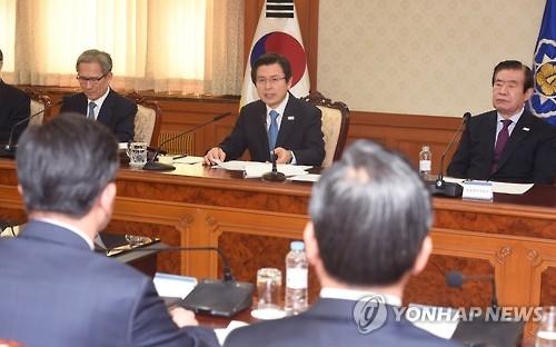韩代总统要求以韩美协防态势遏制朝鲜挑衅