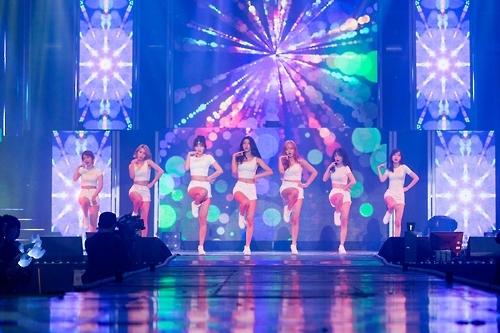 演唱会现场照(FNC娱乐提供)