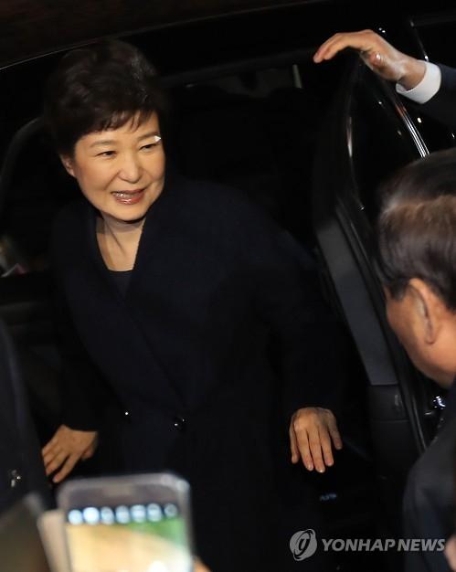 简讯:朴槿惠离开青瓦台回到首尔三成洞私邸