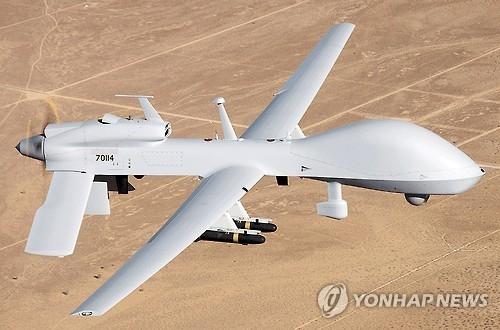 驻韩美军部署灰鹰无人机援韩抗朝