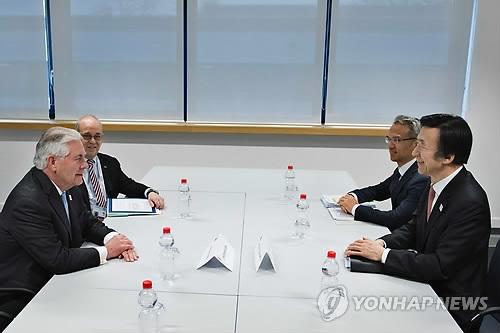 韩美外长会谈将重点商讨萨德问题
