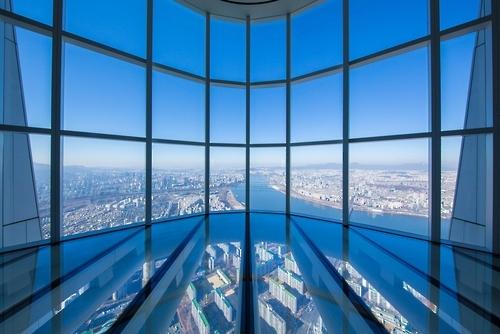 首尔乐天世界大厦瞭望台即将开放 为世界第三高