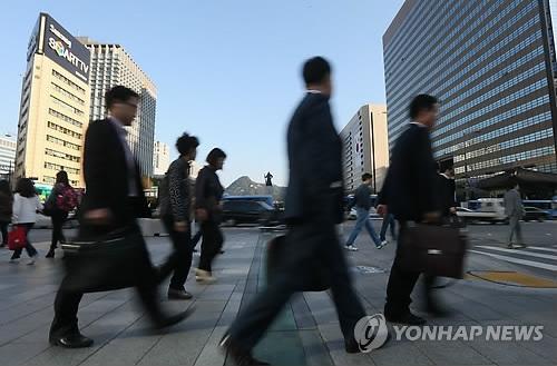 详讯:韩2月就业人口同比增37.1万人 失业率5.0%