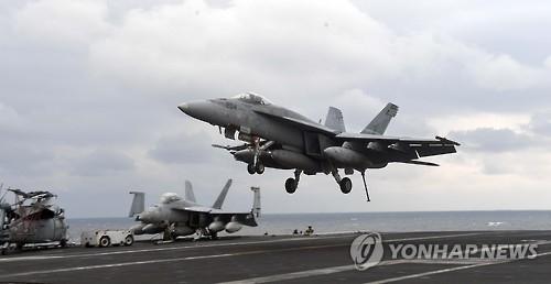 韩美高调进行联演 美出动顶级战略武器威慑朝鲜
