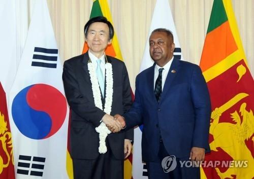 韩斯里兰卡外长会晤 反对朝鲜使用化武