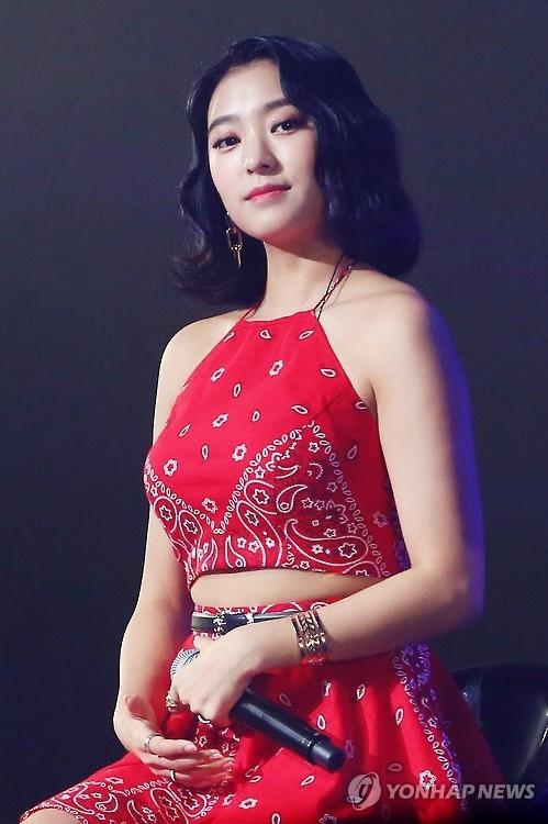 资料图片:SISTAR成员宝拉(韩联社)