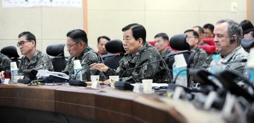 韩防长参观韩美联合军演现场 强调国家安全绝不妥协
