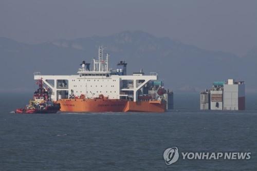 详讯:韩今上午试捞世越号沉船 下午或出水