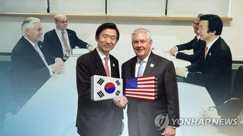 韩外长谈美调整对朝政策:保持施压并反映韩国立场