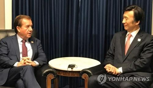 韩外长呼吁国际社会阻止极端分子使用化武