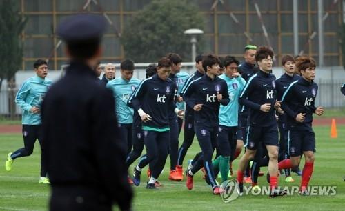 韩外交部:中方部署8千警力为韩中足球赛保驾护航